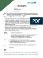 Programme Assistant GS5 10242 - Nicaragua (RevHR)