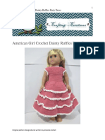 American Girl Dainty Ruffles Party Dress