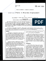 Gravity Effects in Miscible Displacement-SPE-1531-MS
