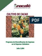 Cultivo de Cacao
