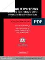 Elements of War Crimes under the Rome Statute of the International Criminal Court - Sources and Commentary (1).pdf