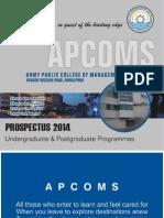 APCOMS Prospectus
