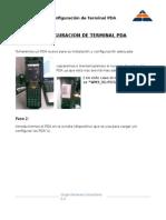 1. Configuracion Terminal PDA