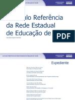 Currículo Referência da Rede Estadual de Educação do Estado de Goiás