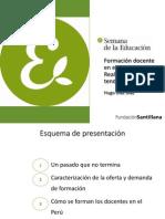 Presentación Hugo Díaz