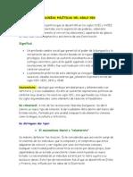 IDEOLOGÍAS POLÍTICAS DEL SIGLO XIX