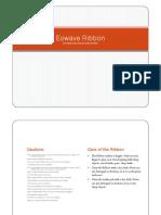 EowaveRibbon Manual