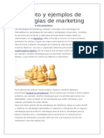 Concepto y Ejemplos de Estrategias de Marketing