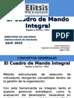 Curso Planificacion Estrategica Introduccion Cuadro Mando Integral