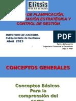 CURSO Planificacion Estrategica Control Gestion Introduccion
