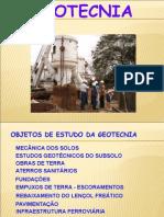 Apresentação - Geotecnia