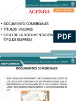 Titulos Valores Documentos Contables