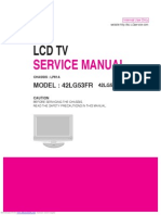 Service manual 42lg53fr