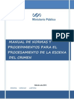 Manual  Escena Del Crimen
