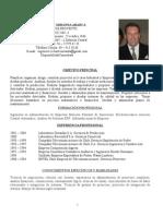 Ingeniero de Proyecto - Curriculum