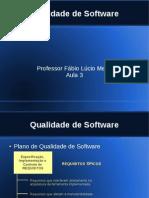 Qualidade de Software 3