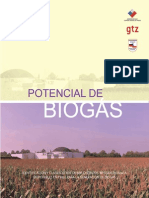 Potencial de Biogas Chile