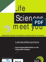 btS Erlangen Lehrstuhlbroschüre 2008