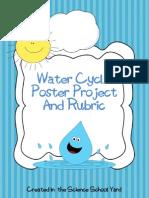 watercycleposterprojectandrubric