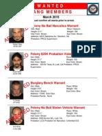 U.S. Marshals Service Stockton and Lodi arrests
