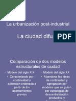 La Urbanizacion Post-Industrial