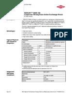 Amberjet 9000 Macroporous Strong Base Anion Resin
