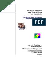 Educação Religiosa - Uma Reflexão Para Os Dias Atuais