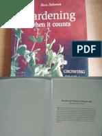 Gardening When It Counts Pdf
