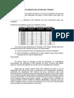 Ejercicio Practico Subasta de Letras Del Tesoro