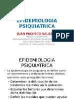 EPIDEMIOLOGIA PSIQUIATRICA