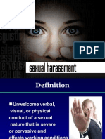 EDU Presentation - Sexual Harassment