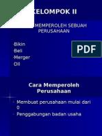Penggabungan Badan Usaha