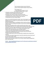 Langkah-langkah Metode SAS (Sintak)