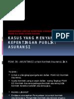 Kasus Asuransi PSAK 36 - Presentasi 29 Sept 2012
