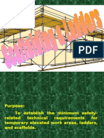 Scaffolding Training