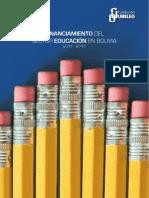 Financiamiento Del Sector Educacion