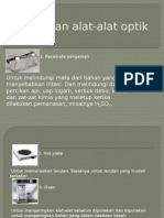 Kegunaan Alat- Alat Optik