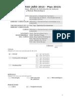 2.4.Métodos y Herramientas Orientadas a La Extensión (Junio 2013)