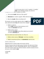 Adverbs Notes