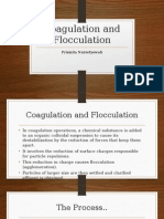 Coagulation and Flocculation Prista