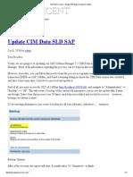 SAP Basis Corner - Weekly SAP Basis Guides & Chatter
