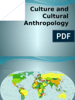 I Culture and Cultural Anthropology
