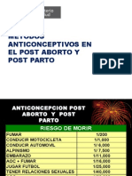 Anticoncepcion Post Parto