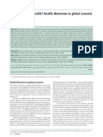 A Future Without Health_Health Dimensions in Global Scenario Study