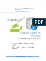 Base de Datos en Android