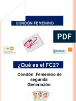 Condon Femenino
