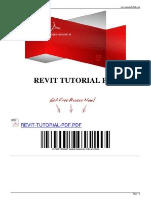 Revit Tutorial PDF | Auto Cad | Autodesk Revit