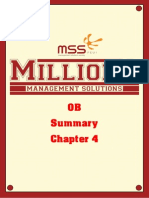 Rangkuman OB Chapter 4 by MSS FEUI
