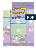 Win 8 for Dummies