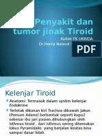 Penyakit Dan Tumor Jinak Tiroid
